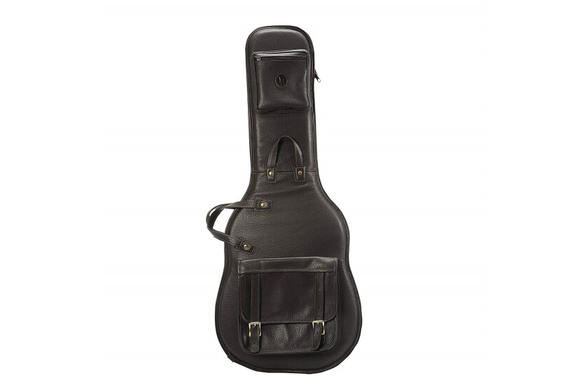 Levy's Leathers LM18-DBR Leather Deluxe Electric Guitar Bag