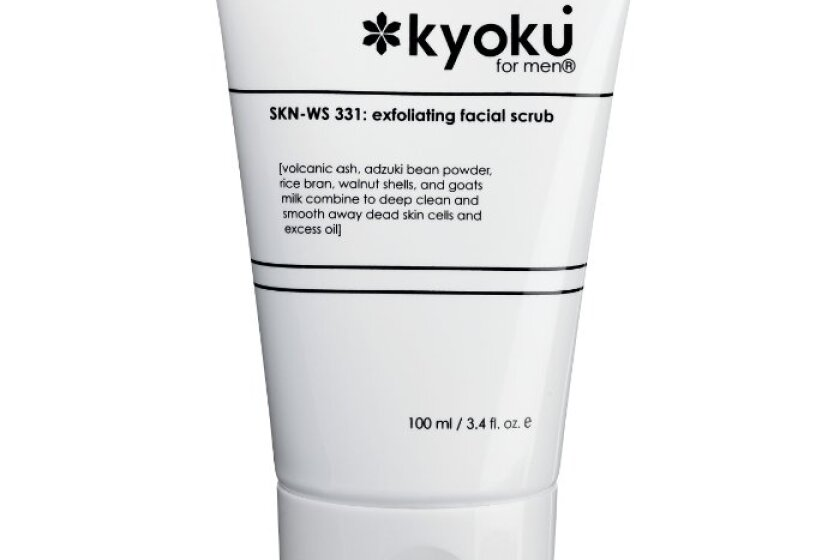 Kyoku Men's Exfoliating Facial Scrub