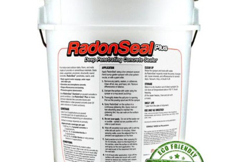 RadonSeal Deep-Penetrating Concrete Sealer