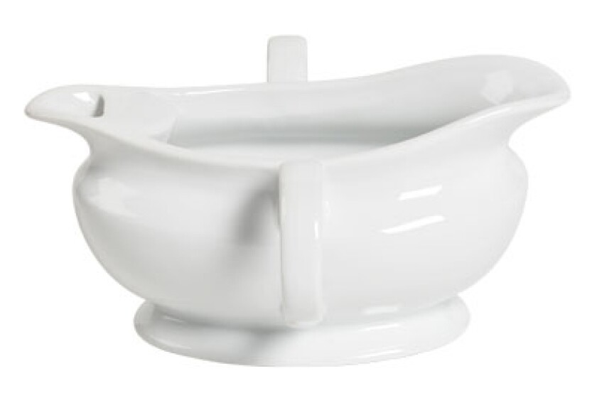 Tabletops Unlimited Porcelain Gravy Separator