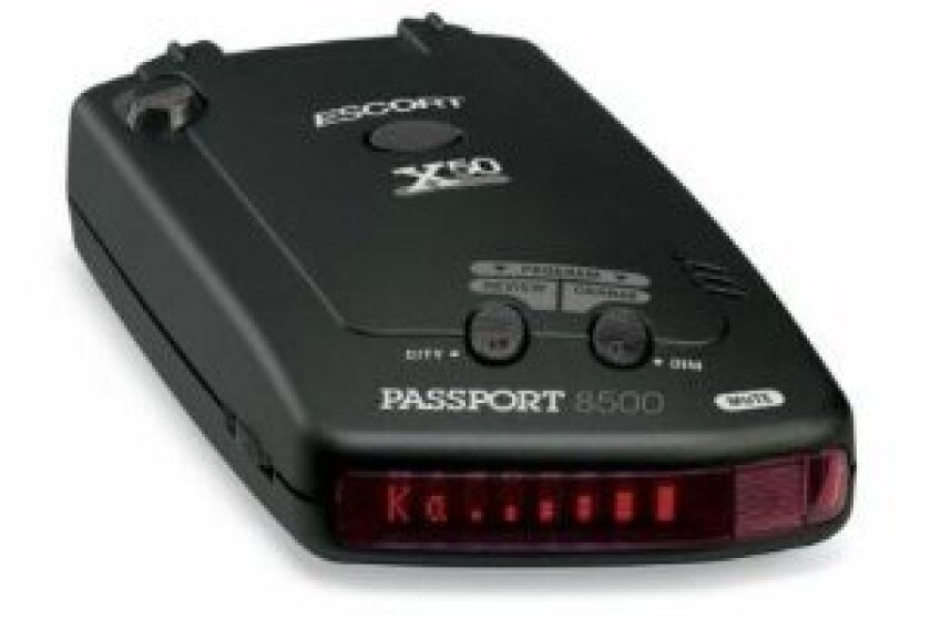 Escort Passport 8500 X50 Black Radar and Laser Detector