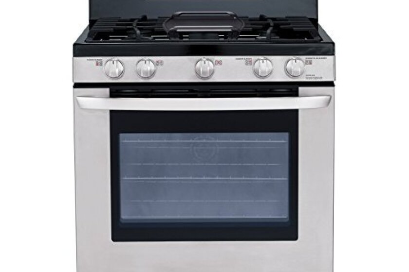 "LG 30"" Freestanding Stainless Steel Self-Cleaning Gas Range - LRG3085ST"