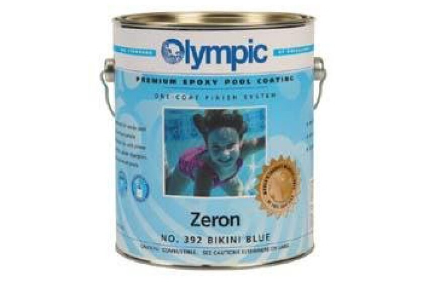 Olympic Zeron Epoxy Pool Coating
