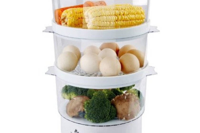 Ovente Triple-Tiered Electric Food Steamer - FS53W
