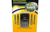 Duracell Stay-Charged NiMH Rechargeable Batteries