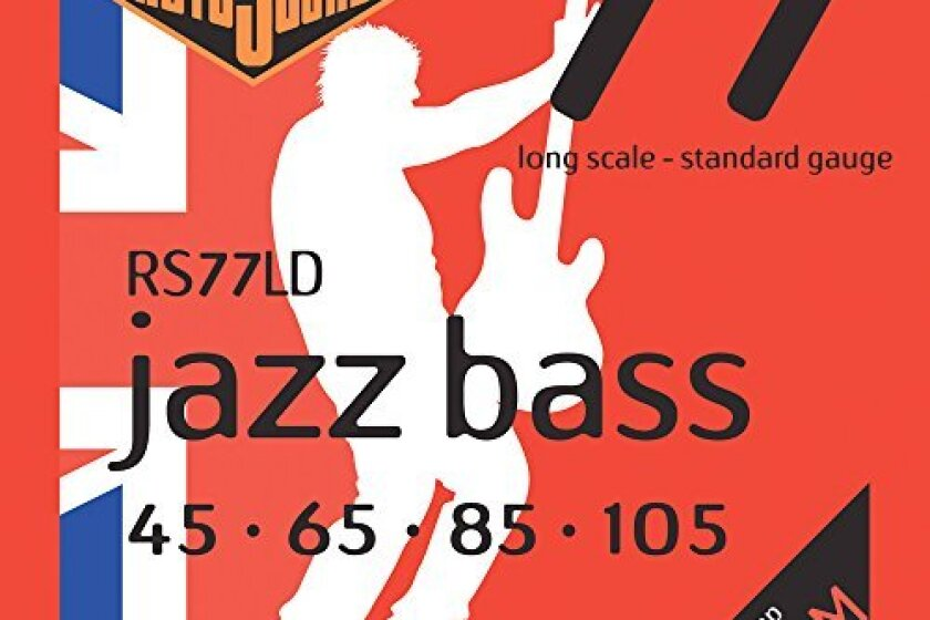 Rotosound RS77LD Jazz Bass Monel Electric Bass 4 String Set