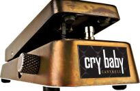Dunlop JC95 Jerry Cantrell Signature Crybaby Wah Guitar Effects Pedal