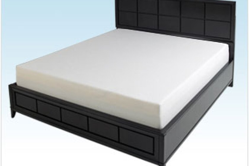 "10"" Green Memory Foam Mattress"