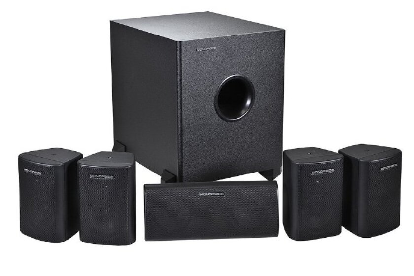 Monoprice 108247 5.1-Channel Home Theater Speaker System