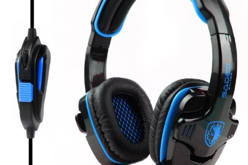 SADES SA-708 Stereo Gaming Headphone Headset with Microphone