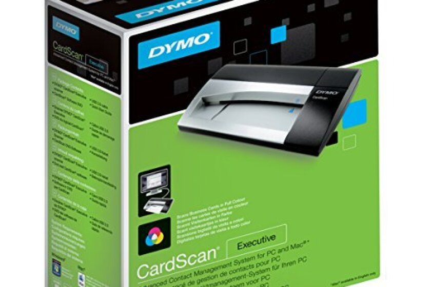 DYMO  CardScan v9 Executive Business Card Scanner