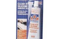 Permatex 80050 Clear RTV Silicone Adhesive Sealant