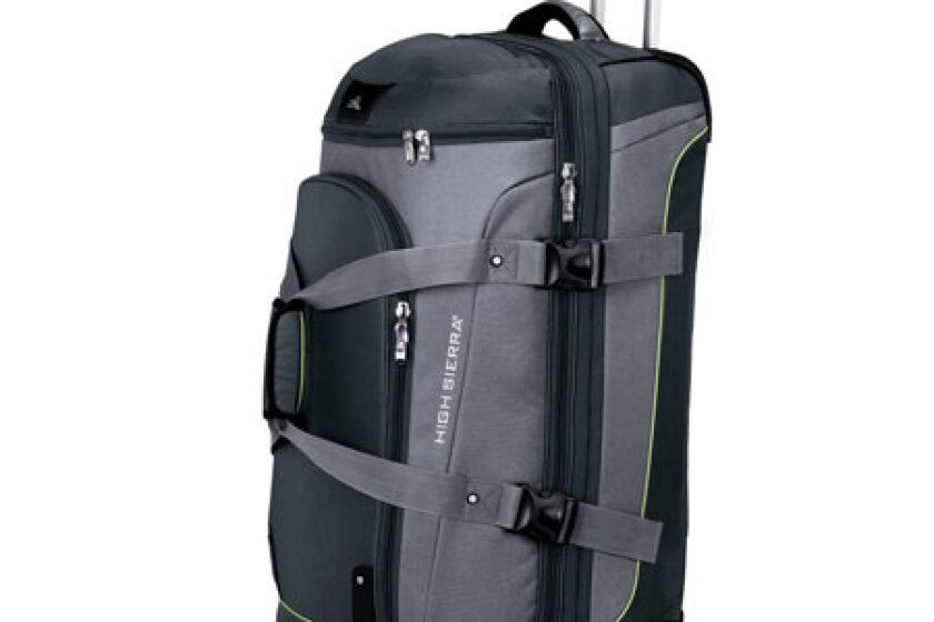 High Sierra ATQ 32in. Drop-Bottom Wheeled Duffel (#AT459)