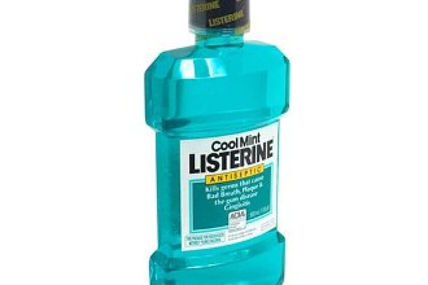 Listerine Antiseptic Cool Mint Mouthwash