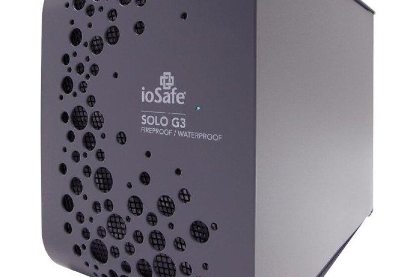 ioSafe SOLO G3 Fireproof/Waterproof 3TB USB 3.0 External Drive