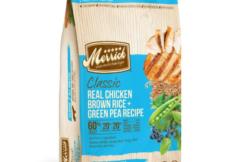 Merrick Classic Senior Real Chicken with Brown Rice