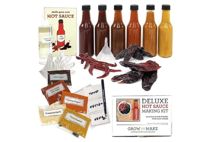 Best Deluxe DIY Hot Sauce Making kit