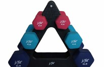 j/fit Dumbbell Set with Stand