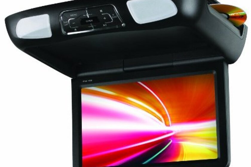 Planet Audio Overhead DVD Player with Monitor, P10.1ES