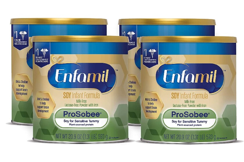 best Enfamil Prosobee Soy Infant Formula Powder with Iron