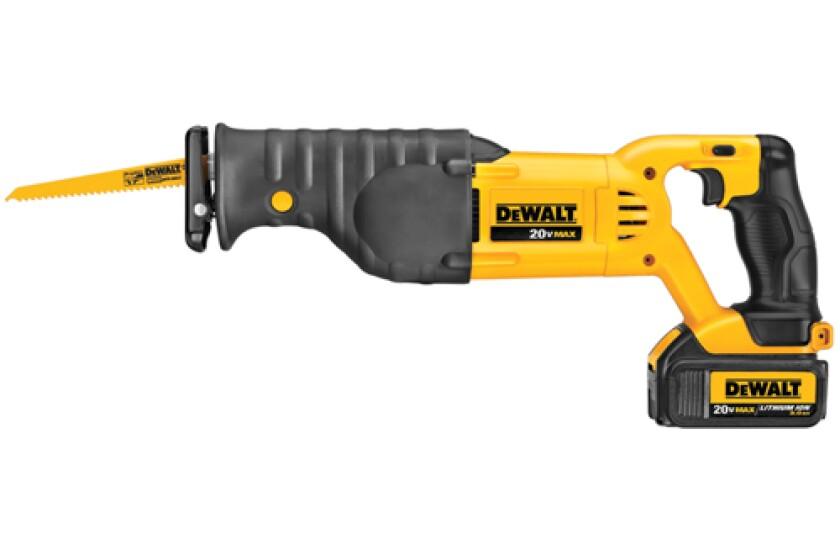 DeWalt DCS380M1, 20V Max Reciprocating Saw Kit