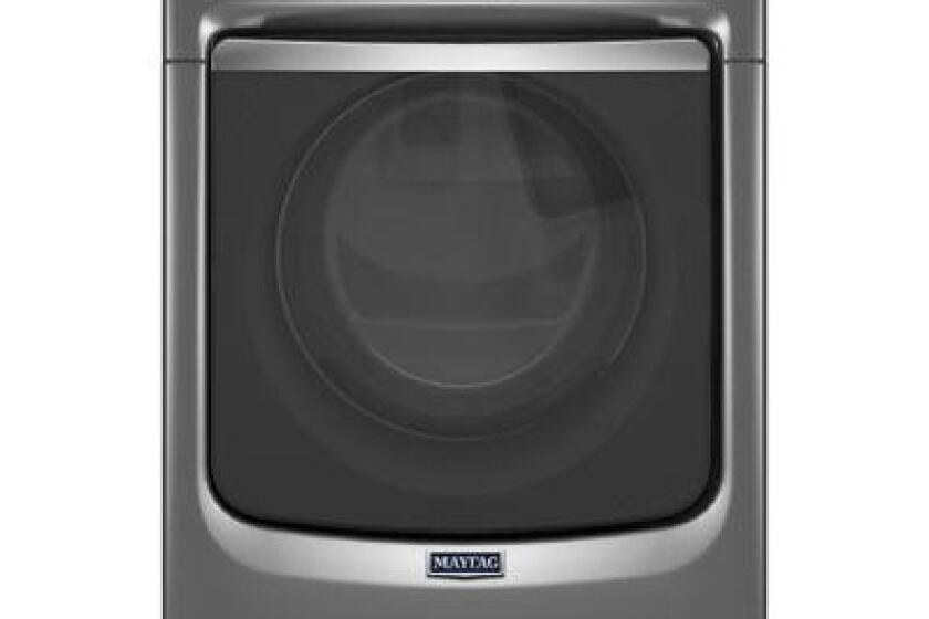 Maytag Maxima 7.4 Cu. Ft. Metallic Slate Stackable With Steam Cycle Gas Dryer - MGD7100DC
