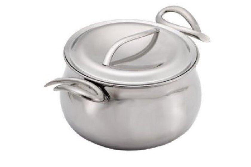 Nambe CookServ 3-Quart Sauce Pan with Lid