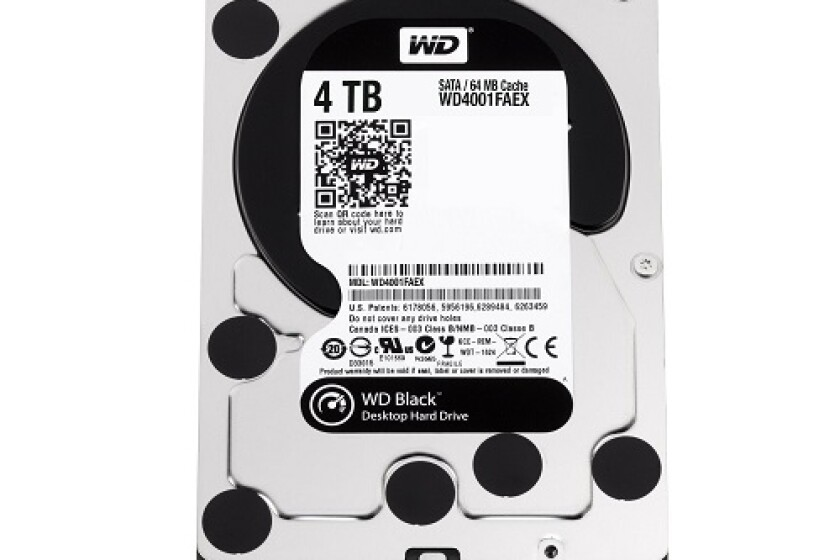 Western Digital Black 4TB 3.5 7200RPM Hard Drive