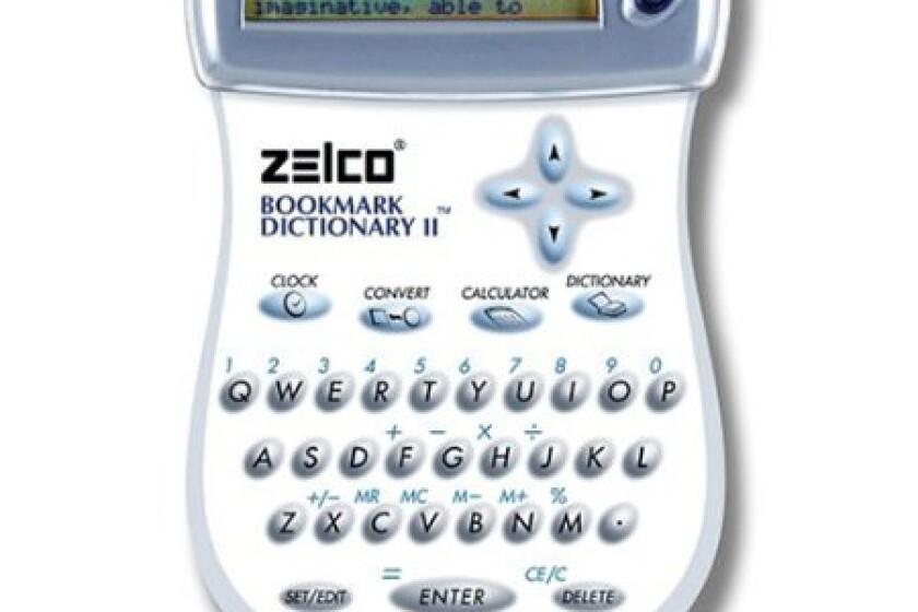 Zelco Electronic Bookmark Dictionary II