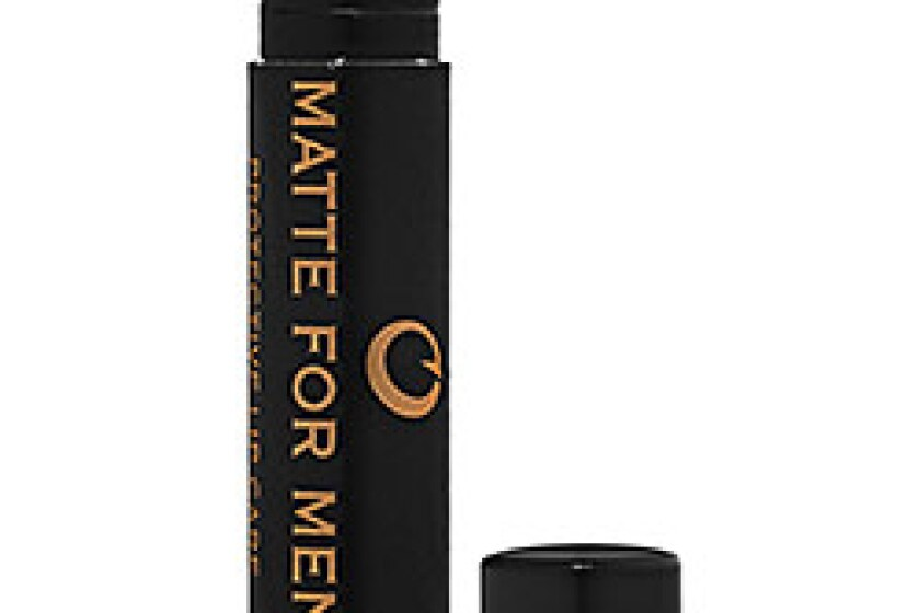 Matte For Men Hydrating Citrus Protective Lip Balm