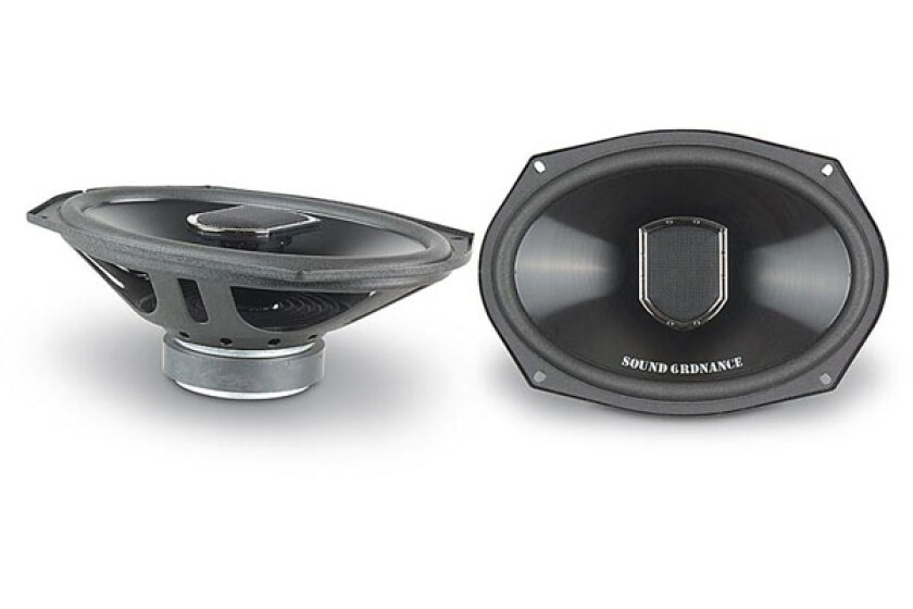 "Sound Ordnance P-69 6""x9"" 2-way car speakers"