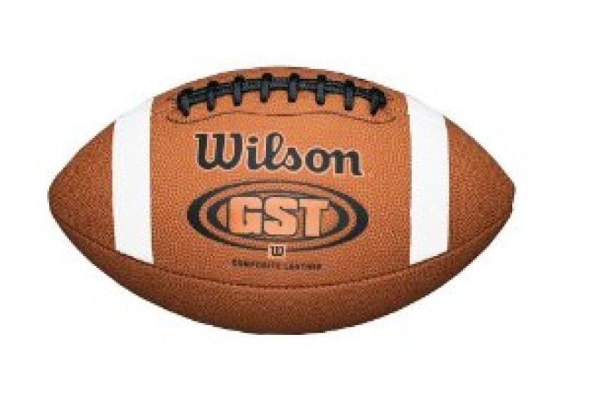 Wilson GST Composite Game Football