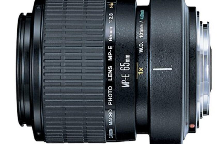 Canon MP-E 65mm f2.8 1-5x Macro Lens