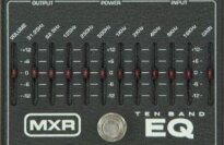 MXR M108 10 Band Graphic Equalizer Pedal