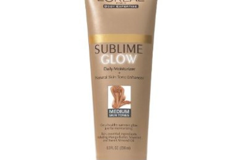 L'Oreal Paris Sublime Glow Daily Body Moisturizer and Natural Skin Tone Enhancer