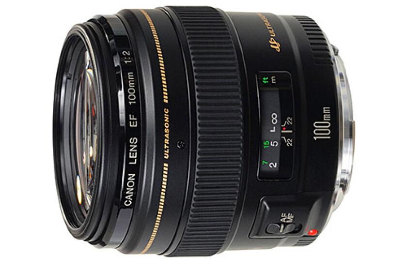 Canon 100mm f/2.0 USM EF Lens