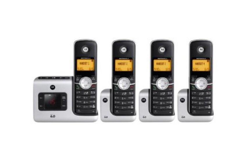 Motorola L404 DECT 6.0 Cordless Phone