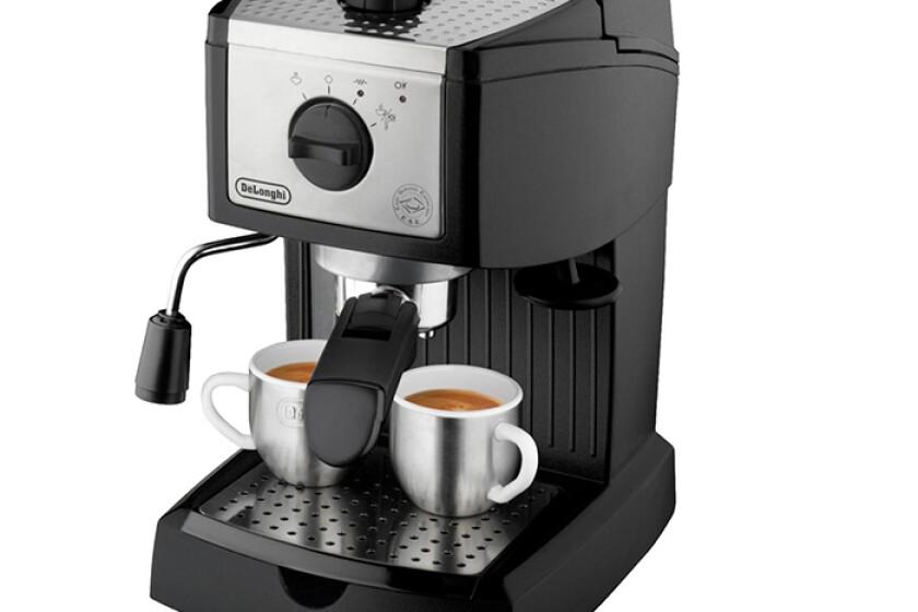 Delonghi EC155 Pump-Driven Espresso Machine