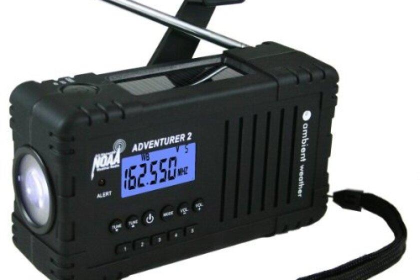 Ambient Weather WR-335 Adventurer Weather Alert Radio