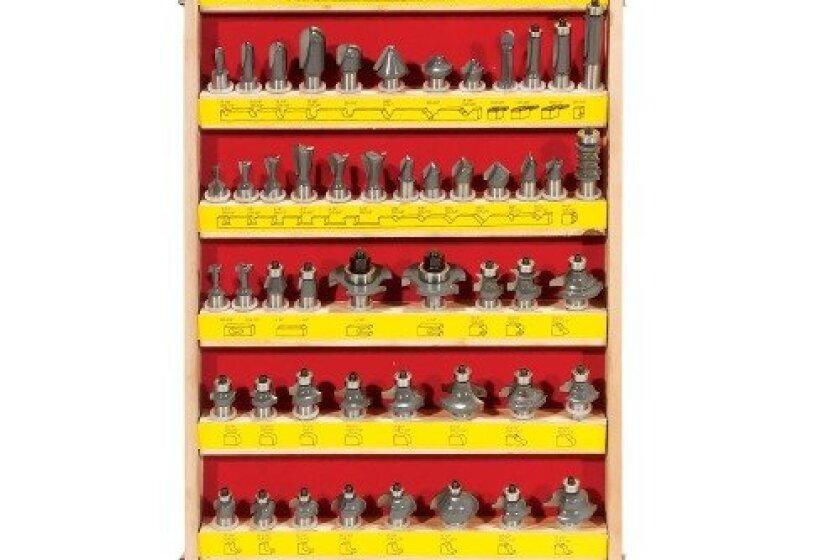 Eagle America P19-7002 70pc Price Cutter Router Bit Set