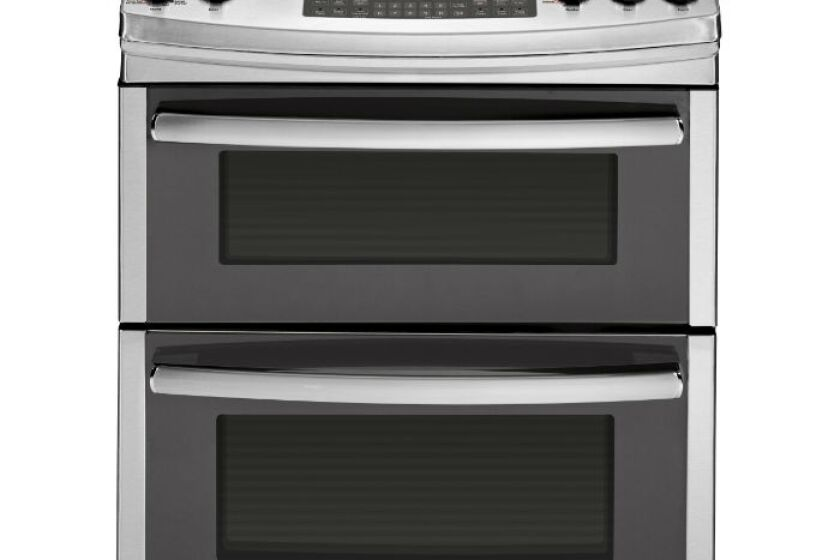 GE 6.8 Cu. Ft. Gas Slide-In Double Convection Oven Range - PGS950SEFSS
