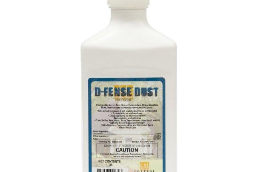 Control Solutions D-Fense Deltamethrin Dust