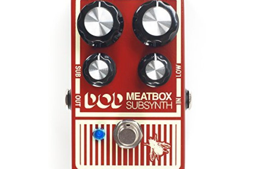 Digitech DOD-MEATBOX sub synth guitar effect pedal