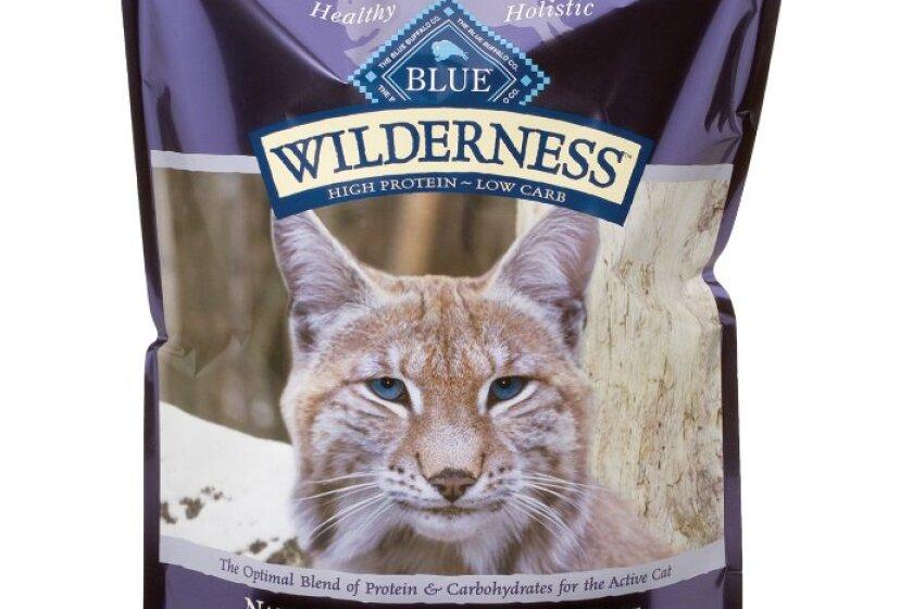 Blue Buffalo Wilderness Grain Free Dry Cat Food, Chicken Recipe