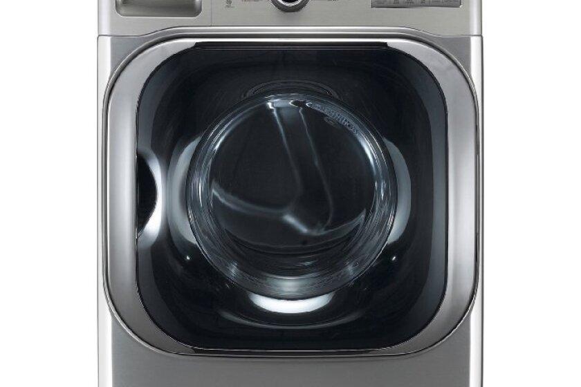 LG 9.0 Cu. Ft. Gas Front Load Steam Dryer - DLGX8001V
