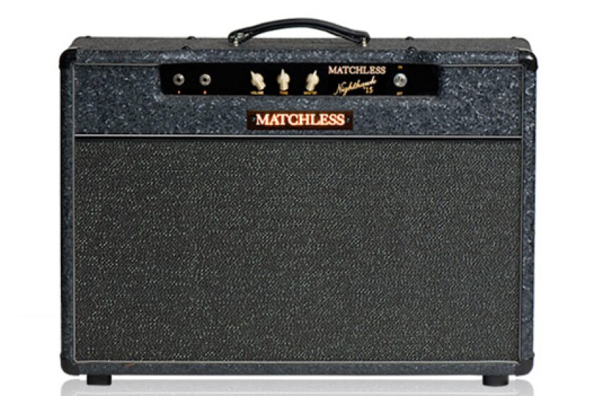Matchless Nighthawk Reverb 1x12 Guitar Combo Amp