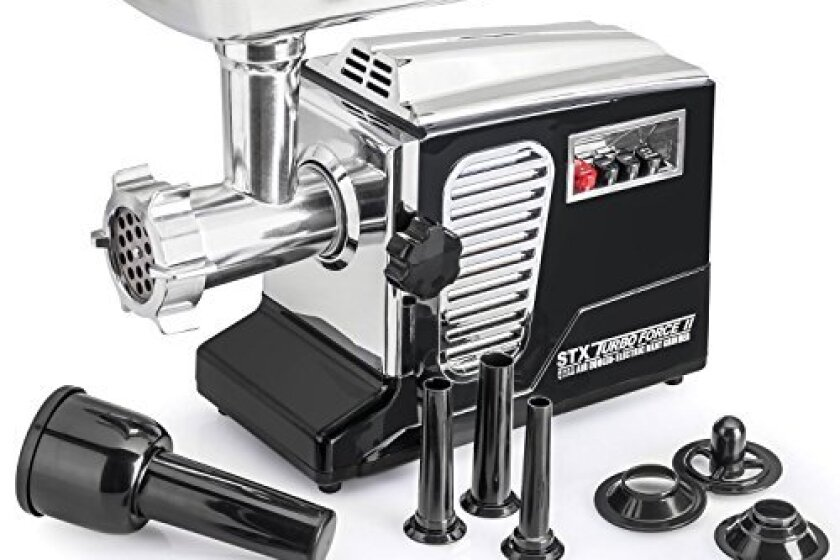 "STX-4000-TB2 Turboforce II ""Quad Air Cooled"" Electric Meat Grinder"