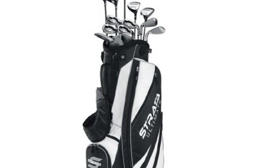 Callaway Men's Strata Ultimate 18-Piece Golf Complete Set