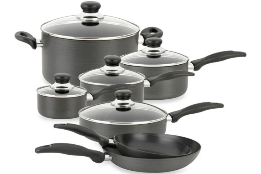 Oneida Hard Anodized 12-Piece Cookware Set