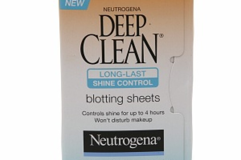 Neutrogena Deep Clean Long-Last Shine Control Blotting Sheets